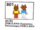 Set No: 801  Name: Fabuland Characters