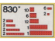 Set No: 830  Name: Red Bricks Parts Pack