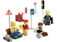 Set No: 8401  Name: City Minifigure Collection