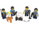 Set No: 850617  Name: City Police Accessory Set