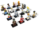 Set No: 8804  Name: Minifigure, Series 4 (Complete Series of 16 Complete Minifigure Sets)