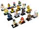 Set No: 8831  Name: Minifigure, Series 7 (Complete Series of 16 Complete Minifigure Sets)