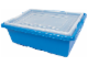 Set No: 9001  Name: Medium Blue Storage Bin (16.5in x 12in x 6in)