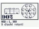 Set No: 902  Name: 5 Turntables