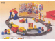 Set No: 9166  Name: Duplo Battery Train - 65 elements in solid storage bin