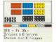 Set No: 918  Name: 21 8-Stud Bricks