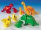 Set No: 9196  Name: Duplo Dinosaur Families