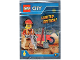 Set No: 951702  Name: Worker with Wheelbarrow foil pack