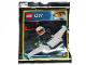 Set No: 951901  Name: Police Officer and Jet foil pack