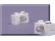 Set No: 970005  Name: 9-Volt 1 x 2 Lamp Brick (Pack of 2)