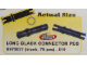 Set No: 970037  Name: Long Black Connector Peg (Pack of 75)