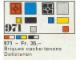 Set No: 971  Name: 52 flat tile bricks