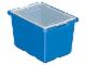 Set No: 9840  Name: X-Large Blue Storage Bin (16.5in x 12in x 10in)