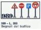 Set No: 989  Name: 10 Traffic Signs
