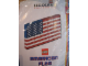 Set No: AMFlag  Name: American Flag with Sticker For Stars (Legoland California)