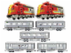Set No: K10022  Name: Santa Fe Train Kit