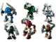 Set No: K8725  Name: Matoran of Voya Nui Collection (8721, 8722, 8723, 8724, 8725, 8726)