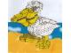 Set No: LLCA03  Name: Pelican Sculpture (Legoland California)
