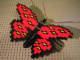 Set No: LLCA32  Name: Butterfly - Red Wings with Black / Yellow Spots (LLCA Ambassador Pass Exclusive)