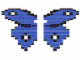 Set No: LLCA32  Name: Butterfly - Blue Wings with White Spots (LLCA Ambassador Pass Exclusive)