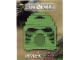 Set No: LLCABR1  Name: Hau Mask - Green Brick (Legoland California)