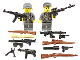 Set No: bawk04  Name: German Weapons Pack