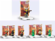 Set No: cnminifigs  Name: Ninja Minifigure Packs 3-Pack