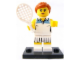 Set No: col03  Name: Tennis Player, Series 3 (Complete Set with Stand and Accessories)