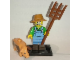 Set No: col15  Name: Farmer, Series 15 (Complete Set with Stand and Accessories)