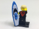 Set No: col17  Name: Pro Surfer, Series 17 (Complete Set with Stand and Accessories)