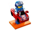 Set No: col18  Name: Race Car Guy, Series 18 (Complete Set with Stand and Accessories)