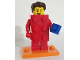 Set No: col18  Name: LEGO Brick Suit Guy, Series 18 (Complete Set with Stand and Accessories)