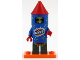 Set No: col18  Name: Firework Guy, Series 18 (Complete Set with Stand and Accessories)