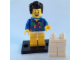Set No: coltlm  Name: 'Where are my Pants?' Guy, The LEGO Movie (Complete Set with Stand and Accessories)