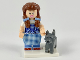 Set No: coltlm2  Name: Dorothy Gale & Toto, The LEGO Movie 2 (Complete Set with Stand and Accessories)