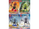Set No: kabbion  Name: Kabaya Bionicle 4-Pack (boxed 1417, 1418, 1419, 1420)