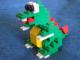 Set No: llca10  Name: Dragon Sculpture (Legoland California)