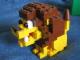Set No: llca11  Name: Lion Sculpture (Legoland California)
