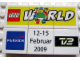 Set No: lwp01  Name: LEGO World Denmark Puzzle Promo 2009