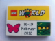 Set No: lwp05  Name: LEGO World Denmark Puzzle Promo 2012