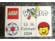 Set No: lwp08  Name: LEGO World Denmark Puzzle Promo 2014