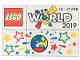 Set No: lwp13  Name: LEGO World Denmark Puzzle Promo 2019