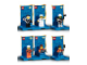 Set No: tominifigs  Name: Town Minifig Packs 2-Pack