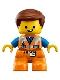 Minifig No: 47205pb064  Name: Duplo Figure Lego Ville, Emmet