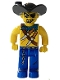 Minifig No: 4j016  Name: Pirates - Drake Dagger