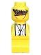Minifig No: 85863pb006  Name: Microfigure Ramses Pyramid Adventurer Yellow