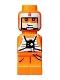 Minifig No: 85863pb075  Name: Microfigure Star Wars Luke Skywalker