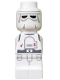 Minifig No: 85863pb082  Name: Microfigure Star Wars Snowtrooper
