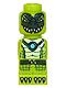 Minifig No: 85863pb098  Name: Microfigure Legends of Chima Crocodile