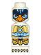 Minifig No: 85863pb099  Name: Microfigure Legends of Chima Eagle